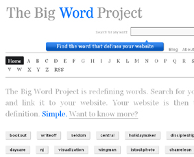 The Big Word Project