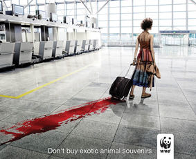 WWF—Don't Buy Exotic Animal Souvenirs