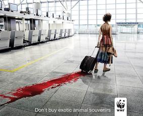 WWF—Don't Buy Exotic Animal Souvenirs