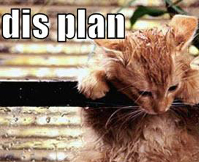Oh Noes, Dis Plan …