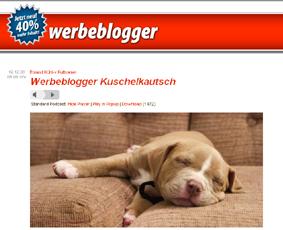 Werbeblogger Kuschelkautsch