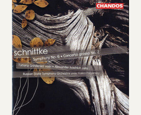 Concerto Grosso No.2/Symphony No.6 by Alfred Schnittke