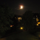 Moon over Lake Geneva