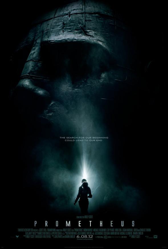 Prometheus Teaser Poster