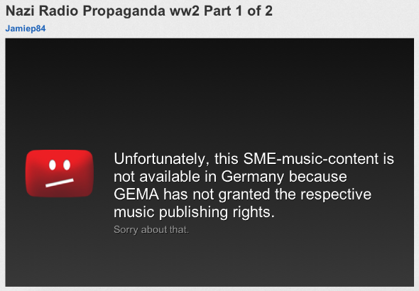These historical recordings are not available in your country.