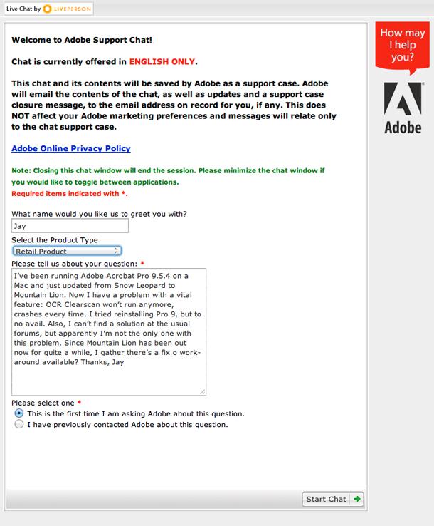 Adobe Chat 1