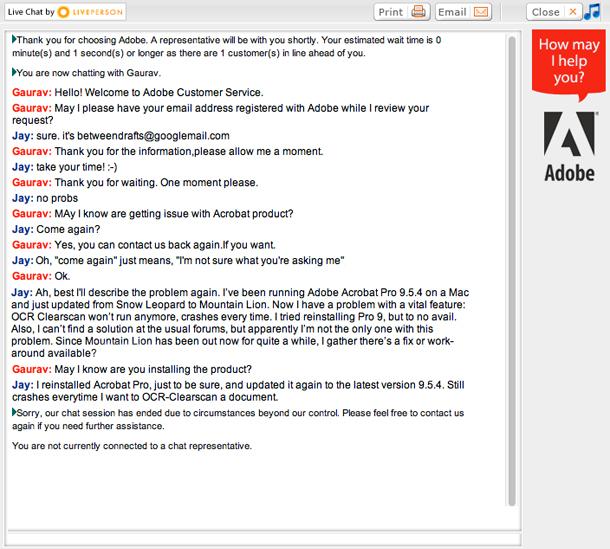 Adobe Chat 2