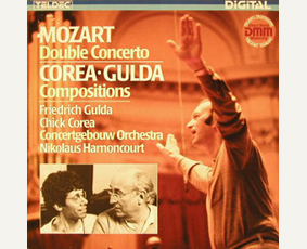 W. A. Mozart: Double Concerto; F. Gulda, Chick Corea: Compositions