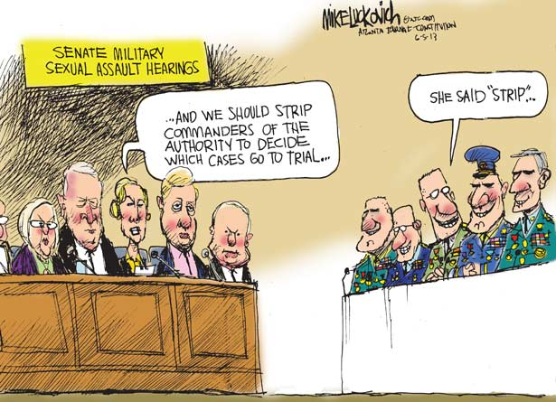 Senate Hearings on Sexual Assault in the Military
