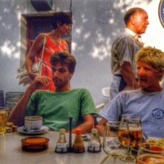 Alcudia, Majorca 1989 or 1990