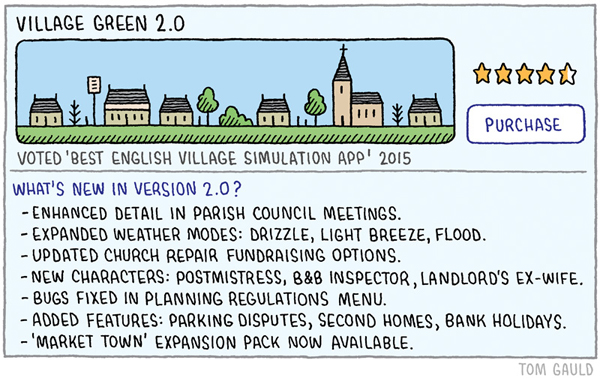 Tom Gauld: Village Green 2.0